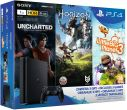 Sony PlayStation 4 Slim 1TB + Uncharted: Zaginione Dziedzictwo + Horizon Zero Dawn + Little Big Planet 3