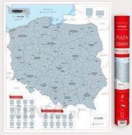 Polska Mapa Zdrapka 1 1 500 000 Ceny I Opinie Ceneo Pl
