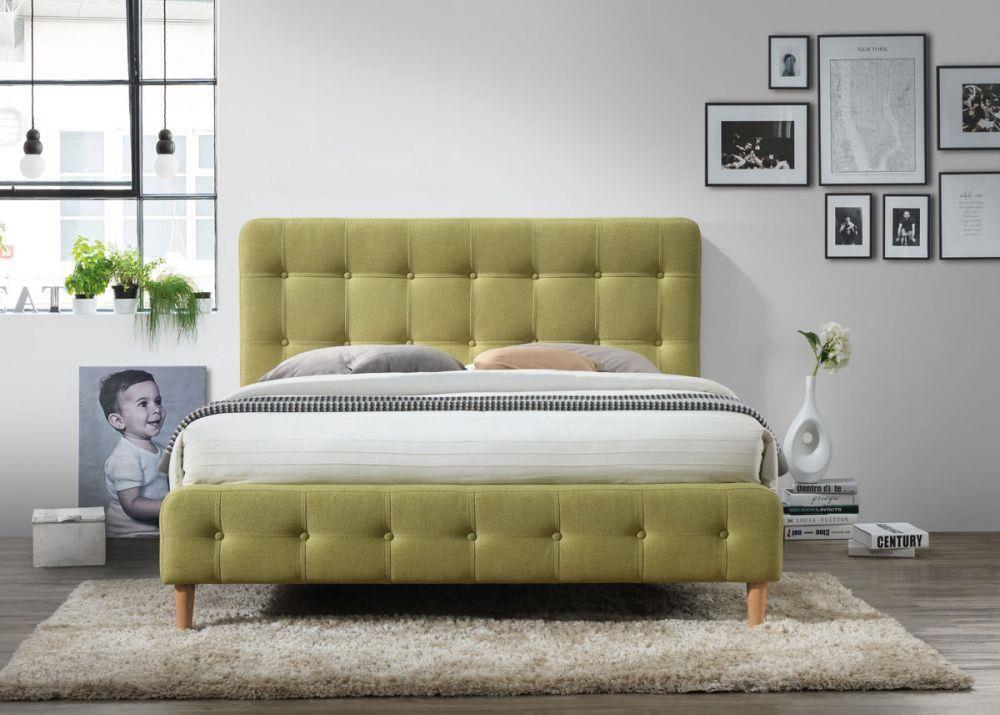 Signal łóżko Alice Zielone 160x200