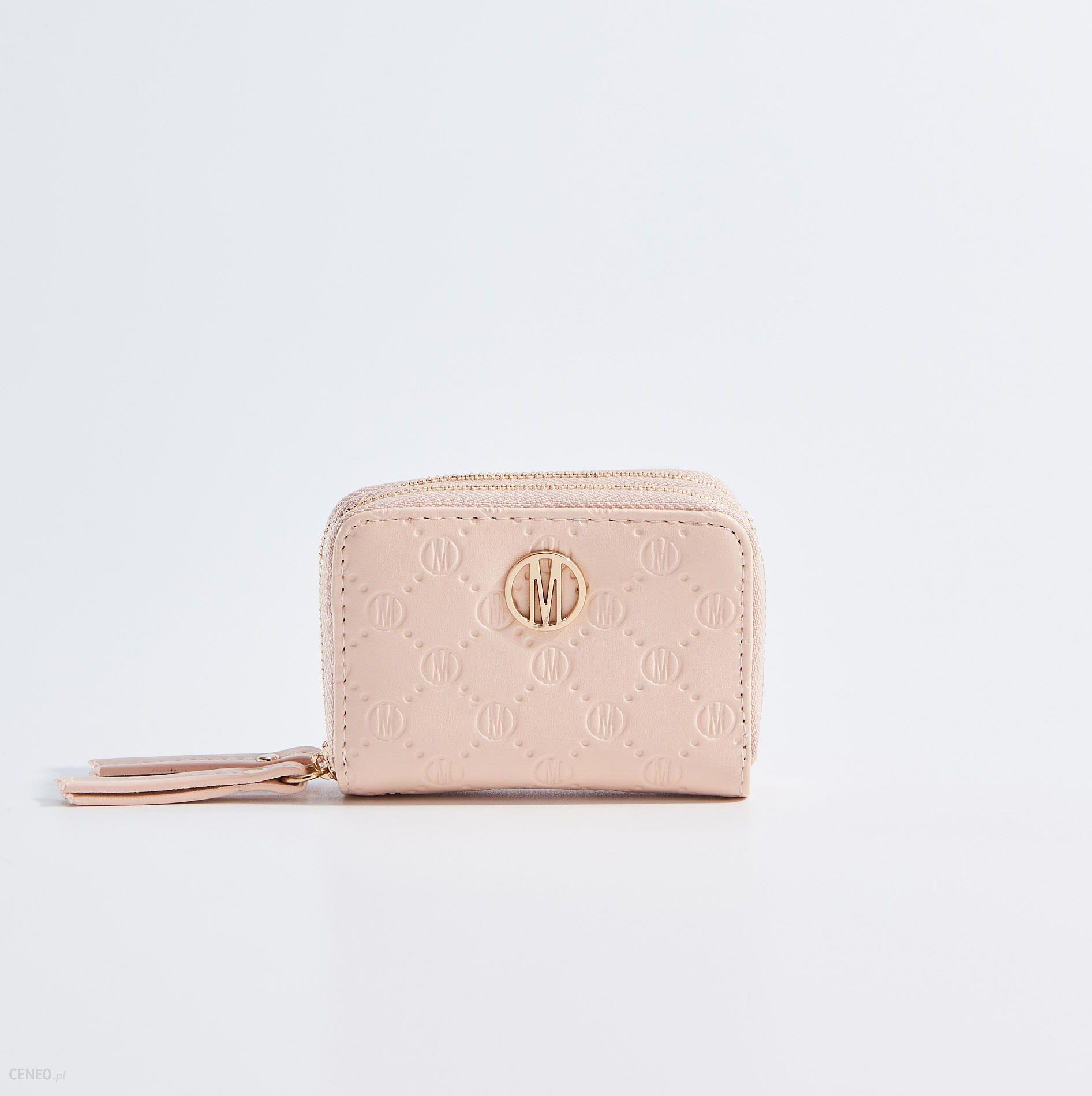 8dba5bc123c03 Mohito - Mały portfel - Różowy - Ceny i opinie - Ceneo.pl