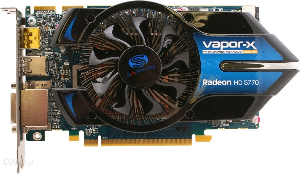 Sapphire Radeon Hd5770 1gb Ddr5 128bit Pci E 11163 05 20r Karta Graficzna Opinie I Ceny Na Ceneo Pl