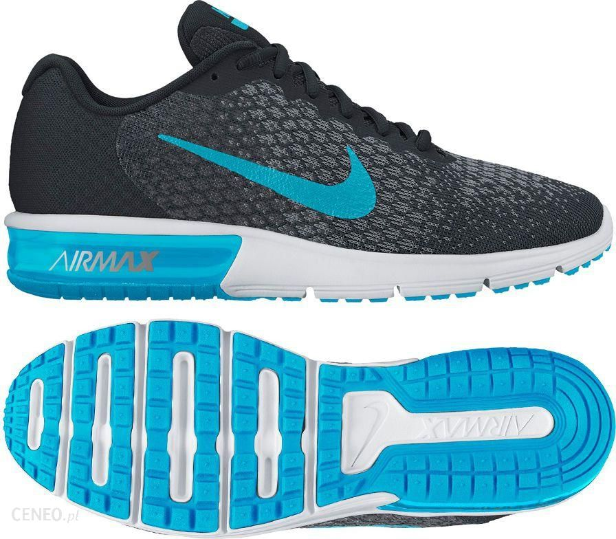 Nike Buty Nike Air Max Sequent 2 852461 004 852461 004 czarny 45 12 852461 004 Ceny i opinie Ceneo.pl