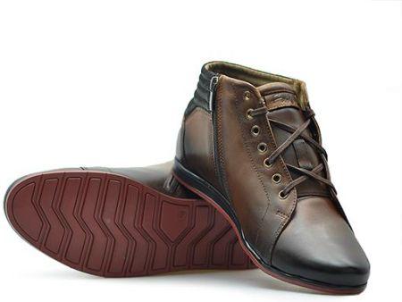 0576742caa5c Napapijri buty za kostkę męskie C4 41 brązowy - Ceny i opinie - Ceneo.pl
