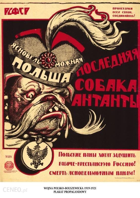 Plakat A3 Jałšniewielmożna Polska Ostatni Pies Ententy A3 Gplak1920 002