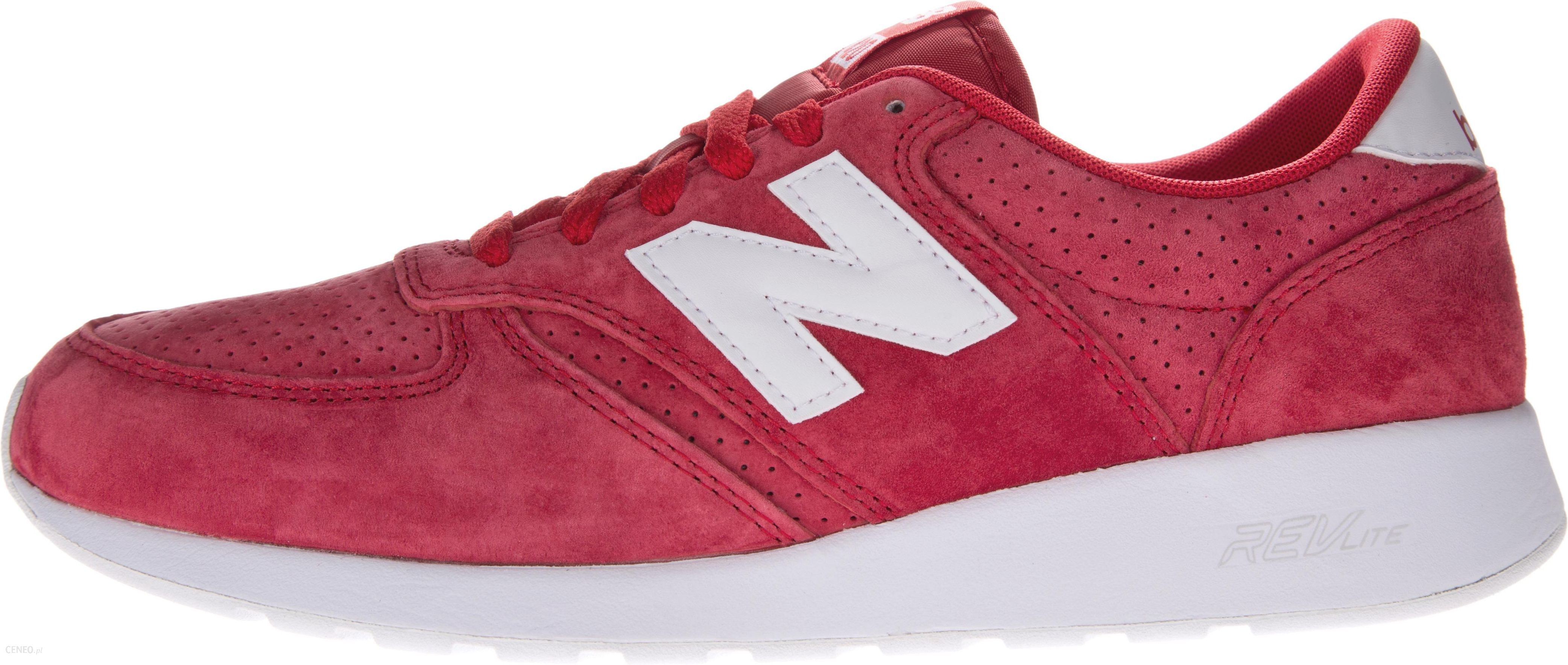 new balance u420 czerwone