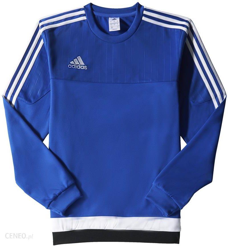 af29c42e8 BLUZA adidas TIRO 15 TRANING TOP niebieska /S22425 - Ceny i opinie ...