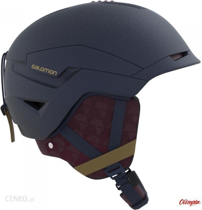 Salomon, Kask narciarski, Grom Visor [2020], czarny rozmiar S