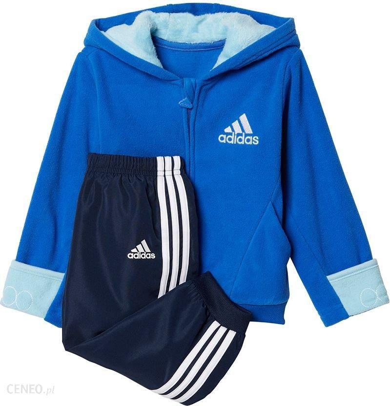 Adidas Dres adidas I FUN FZH Polar CE9721 CE9721 niebieski 98 cm CE9721 Ceny i opinie Ceneo.pl