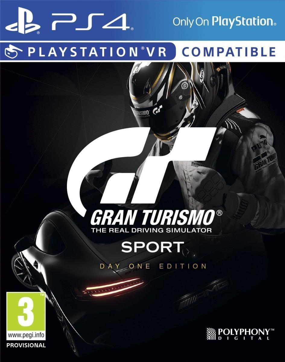 Gran Turismo Sport Edycja Day One Gra Ps4 Ceny I Opinie Ceneo Pl