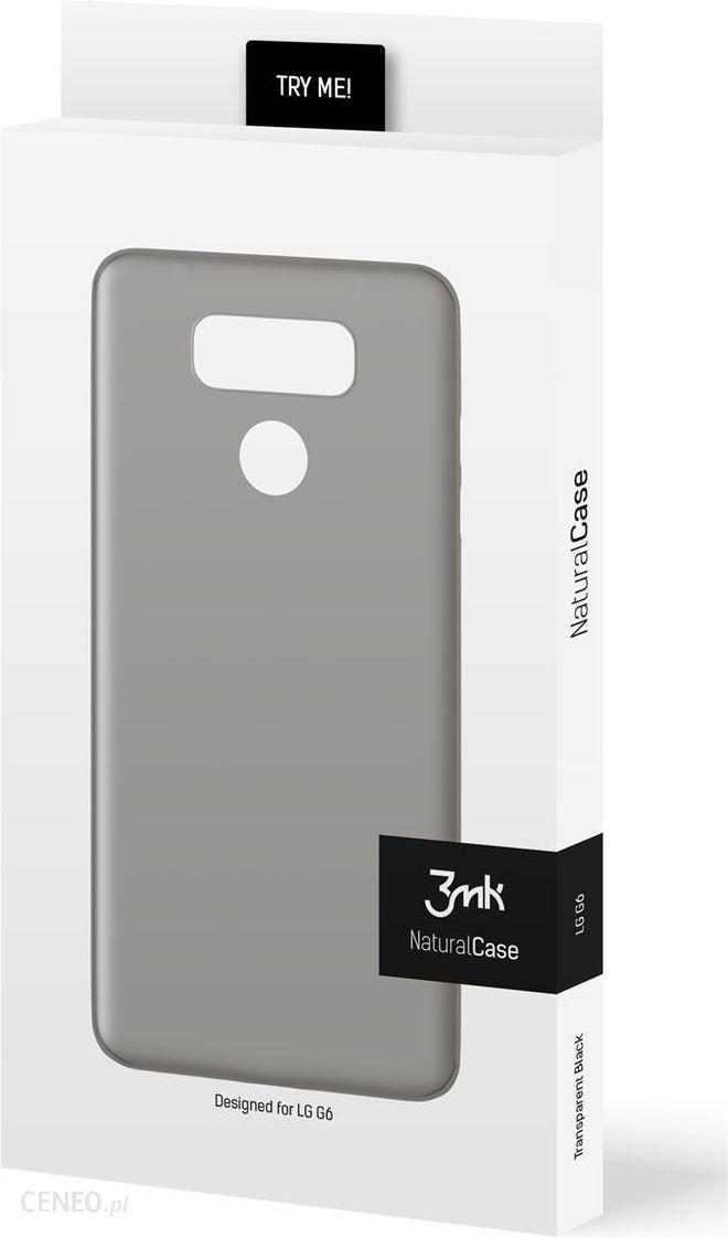 7a87c815d7302 3mk Natural Case LG G6 Czarny - Etui na telefon