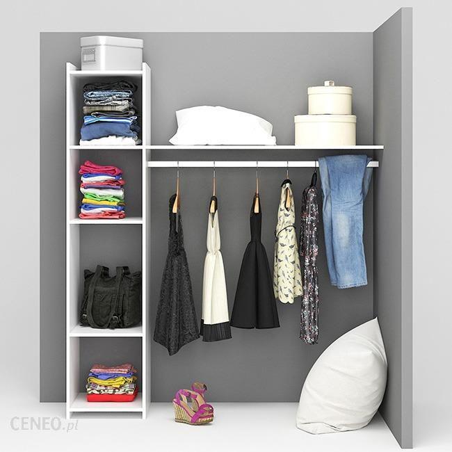 Form Garderoba Basic Biała