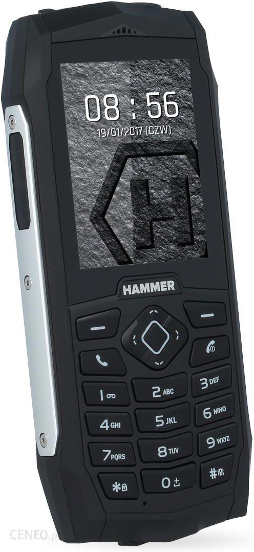 Hammer 3 Plus Dual Sim Srebrny Opinie I Ceny Na Ceneo Pl