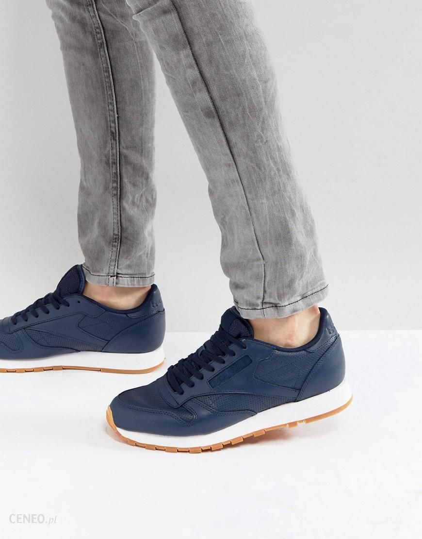 Reebok Classic Leather PG Trainers Blue Ceneo.pl