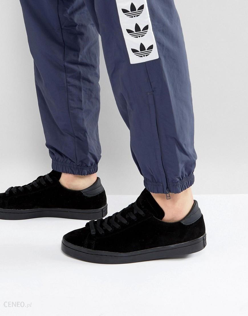 new concept bd154 c3e36 adidas Originals Court Vantage Trainers In Black BZ0434 - Black - zdjęcie 1
