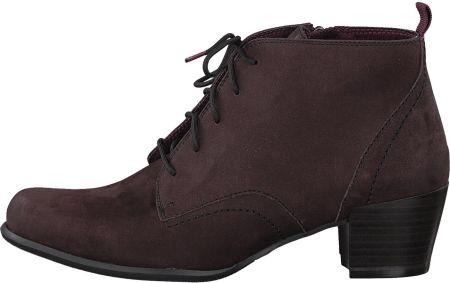 60542ad1723e1 Tamaris buty za kostkę damskie 38 burgund, BEZPŁATNY ODBIÓR: WROCŁAW!