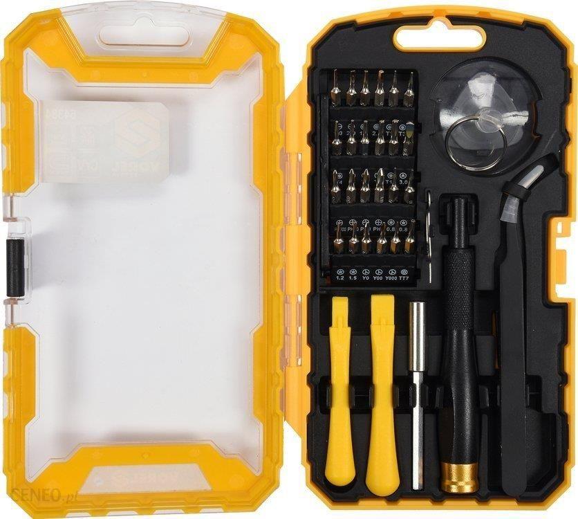 e54359f49b13dd Akcesoria do narzędzi ręcznych Vorel Zestaw Do Naprawy Telefonów Komórkowych  32Szt. (64384) -