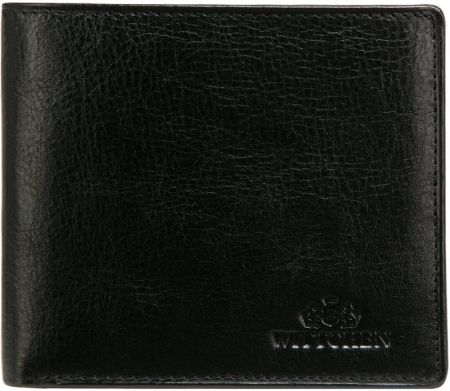 9663c4382e281 Portfel męski skórzany czarny Vip Collection - Ceny i opinie - Ceneo.pl