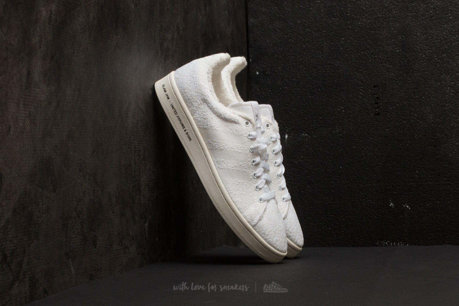 separation shoes 2ba7f fba25 adidas Consortium SE United Arrows amp Sons x Slam Jam Campus Footwear  White Footwear