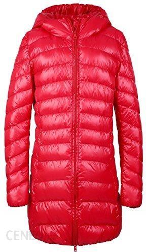 b46d695b05301 Amazon santimon damski płaszcz kurtka puchowa z kapturem długa Ultra lekki  zimowa ciepła puchowa pikowana kurtka