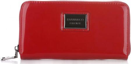 373b2f00ae0f9 Elegancki Portfel Damski Diana&Co Firenze Lakier Czerwony (kolory) ...