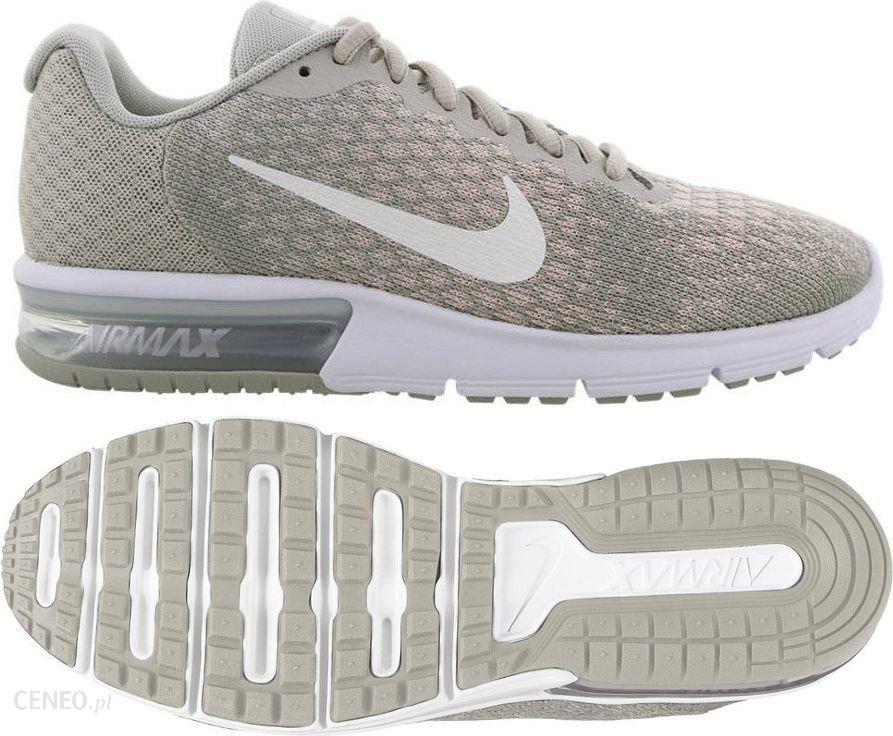 5002d016c8dd5 Nike Buty damskie biegowe Air Max Sequent 2 szare r. 38 (852465-011 ...