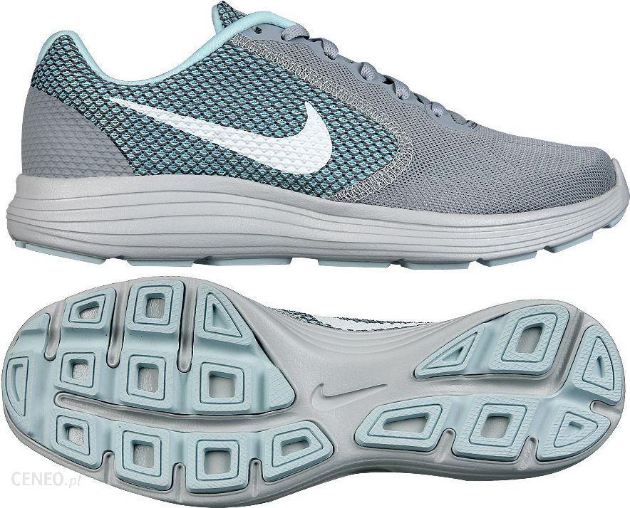 Nike Buty damskie biegowe Revolution 3 szaro niebieskie r. 38 12 (819303 023) Ceny i opinie Ceneo.pl