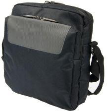 e0d4b32877080 Markowa torba na ramię szara Monte Carlo Vip Collection - Czarny