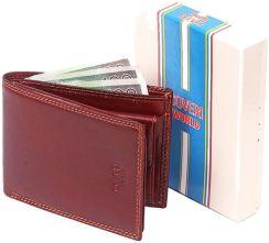 392a44ba85ddb Markowy portfel męski COVERI WORLD SKÓRZANY