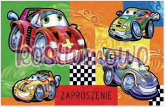 Zaproszenie Na Urodziny Samochody 10szt Ceny I Opinie Ceneopl