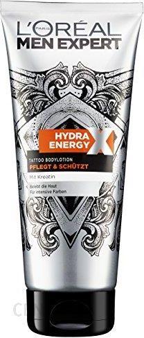 Amazon Loréal Men Expert Hydra Energy Tattoo Balsam Do Ciała 1er Pack 1 X 200 Ml
