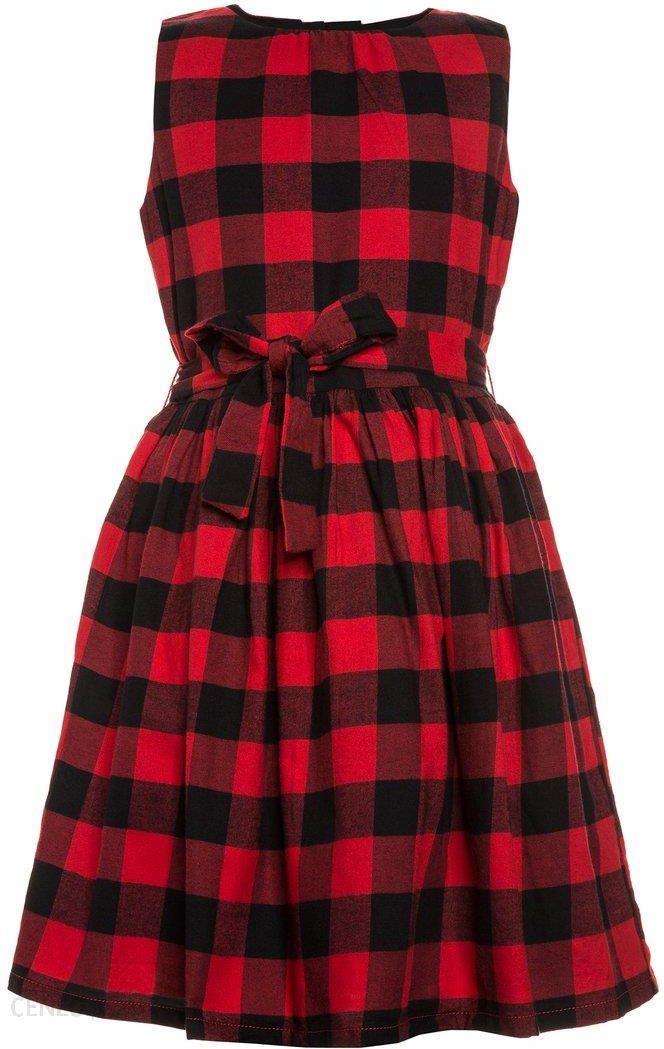 e023a791bd Carter s CHECK DRESS Sukienka letnia red - Ceny i opinie - Ceneo.pl