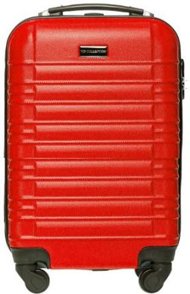 26f8fc1100e98 MAŁA WALIZKA Vip Collection BAGAŻ PREMIUM V1 Czerwony - Czerwony Allegro