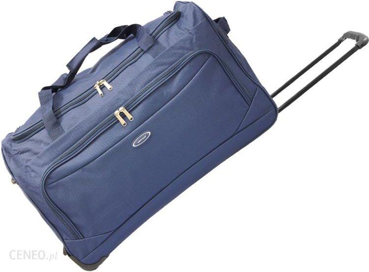e468d1fbb0be5 Torba podróżna na kółkach dark blue 55 cm Eurotravel - Granatowy - zdjęcie 1