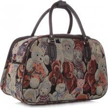 f544e0d854164 Mała Torba Podróżna Kuferek Or&Mi Teddy Bear Multikolor - Beżowa (kolory)