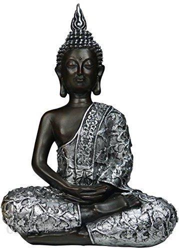 Amazon Khevga Dekoracja Artykuły Dekoracyjne Dekoracyjna Statuetka Figurka Buddy W Pozycji Siedzącej 30 Cm Ceneopl