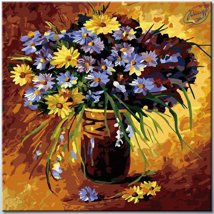 Malowanie Po Numerach Kwiaty