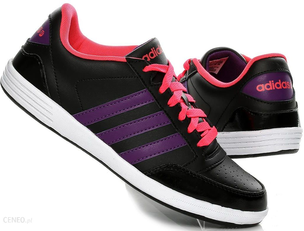 0f3ac010d1c6 ... clearance buty damskie adidas vlneo hoops lo f38659 czarne zdjcie 1  799de 406bc