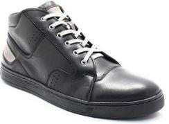 8139d3d41bf675 KENT 303 CZARNE - Zimowe buty męskie ze skóry - Czarny