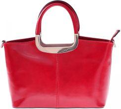 6044655225e4a Torebka skórzana Klasyczna genuine leather Czerwona (kolory) ...