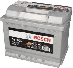 BOSCH S5 SILVER 63AH 610A S50 05
