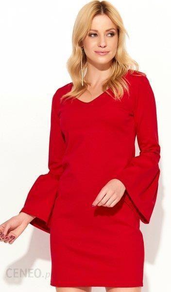1f2444220f Makadamia M366 sukienka czerwona - Ceny i opinie - Ceneo.pl