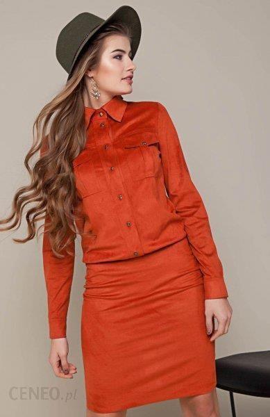 e08155e730 Cover GR1333 sukienka rudy - Ceny i opinie - Ceneo.pl