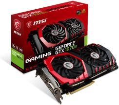MSI GeForce GTX 1070 Ti Gaming 8GB (GEFORCEGTX1070TIGAMING8G)