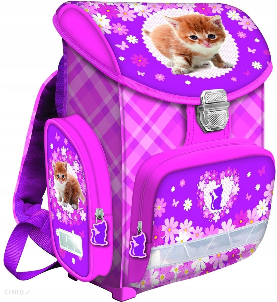4d8d8b3bf10ca St.Majewski Tornister Szkolny Cats Bambino (55051) - Ceny i opinie ...
