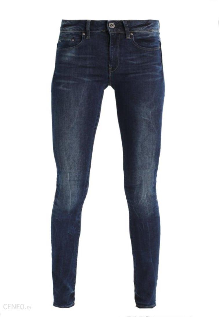 f6fb9c83675a0d GStar MIDGE ZIP MID SKINNY Jeans Skinny Fit neutro stretch denim - zdjęcie 1