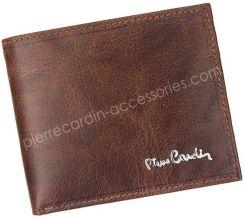 797d7e3f6bce0 Portfel męski skórzany Pierre Cardin FOSSIL TILAK12 8824 RFID Brązowy -  brązowy