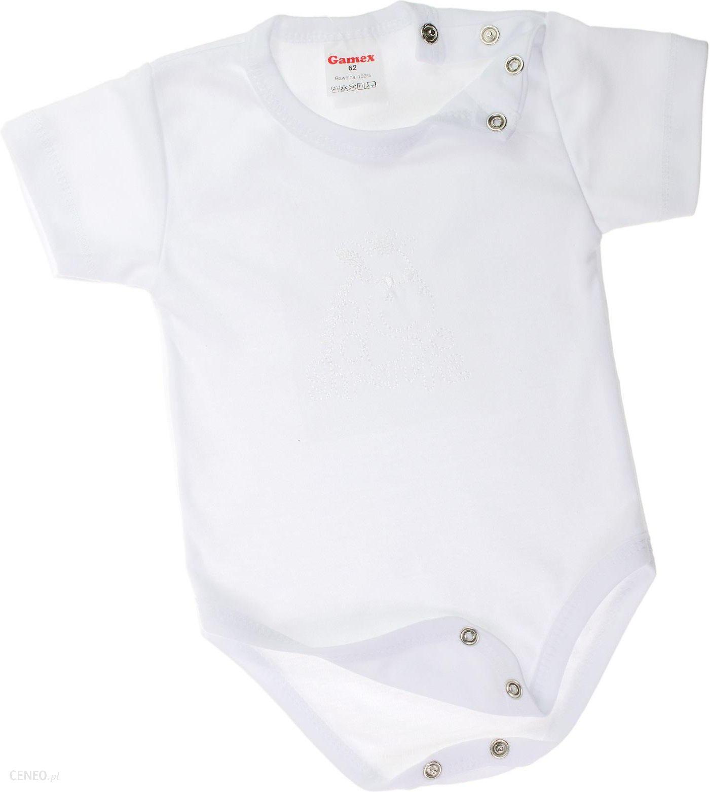 45692eda7f2e39 Body niemowlęce całe rozpinane krótki rękaw Zoo 62 - Ceny i opinie ...
