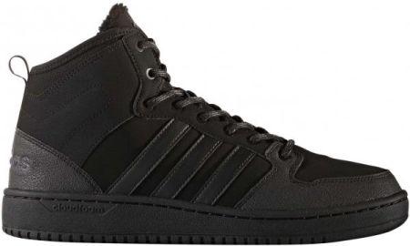 Buty Adidas Męskie Hoops 2.0 MID DB0113 Czarne Ceny i