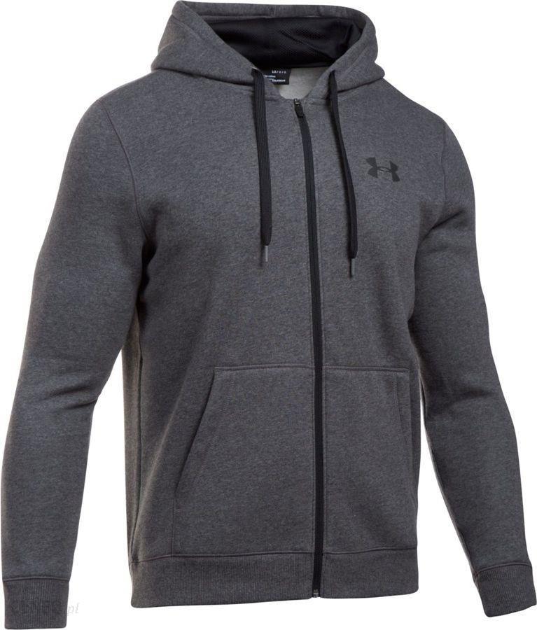 f90affc9e Under Armour Bluza sportowa Rival Fleece Fitted Full Zip Hoodie szara r. XS  (1302290