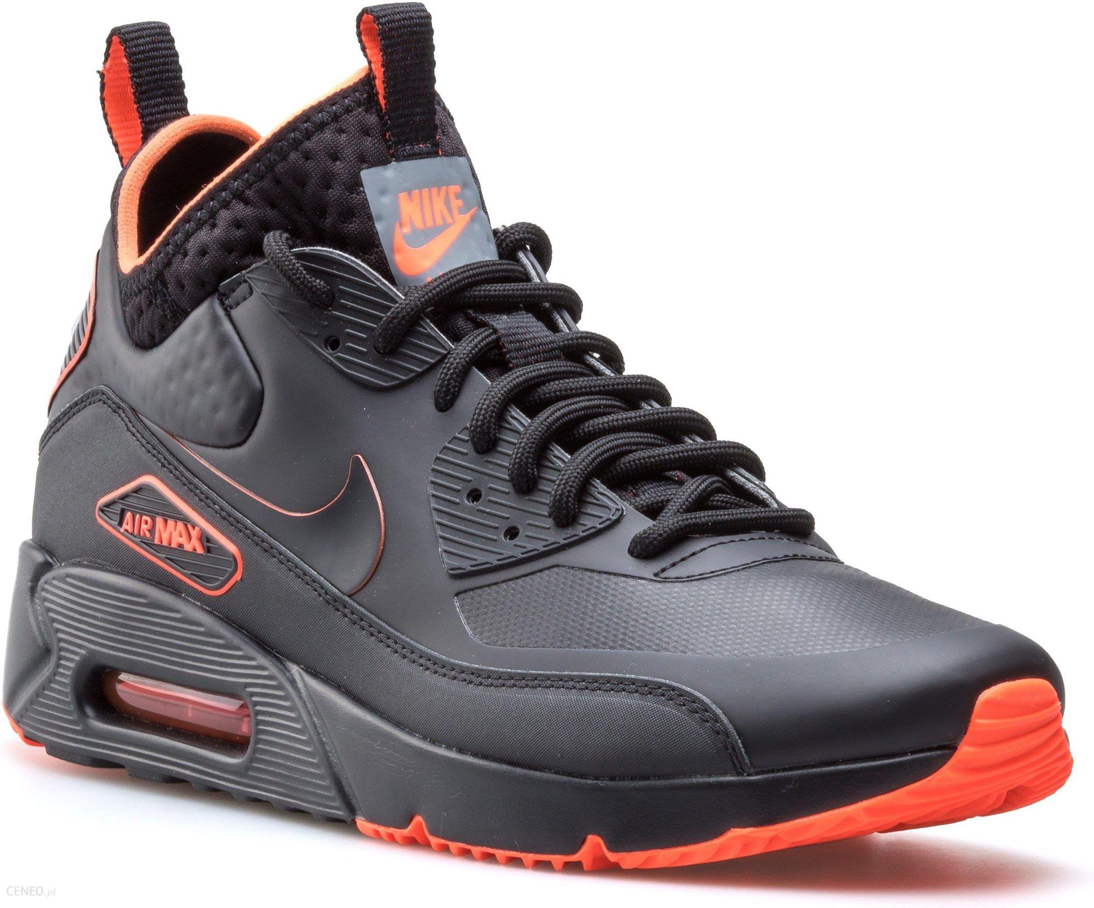 Buty męskie zimowe Nike Air Max 90 Brązowe 42